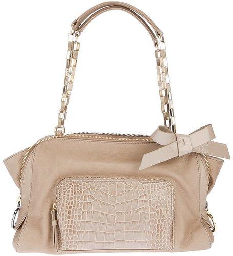 Paule Ka chain handle bag