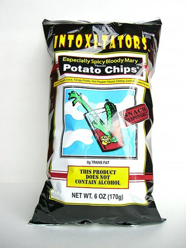Florida: Intoxi-Tators Especially Spicy Bloody Mary Potato Chips