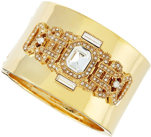 Fragments Deco Pave Cuff