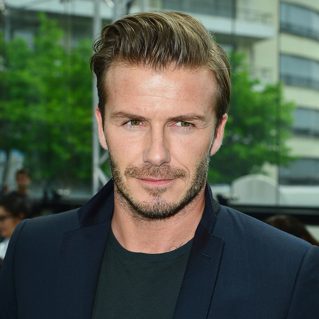 David Beckham With a Beard | Photos