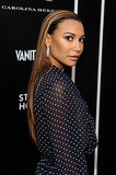 Naya Rivera debuted some new blond highlights in her stick-straight strands.