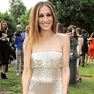 Sarah Jessica Parker in Naeem Khan at Serpentine Party