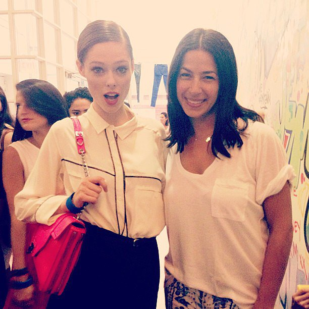 Coco Rocha and Rebecca Minkoff had a blast at the designer's denim launch party in NYC. Source: Instagram user cocorocha