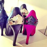 Armored heels from McQ.