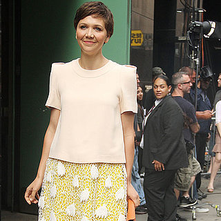 See Maggie Gyllenhaal's Week in Chic on White House Down Pre