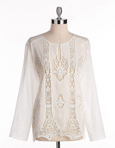 BAILEY 44 Lace Tunic Top