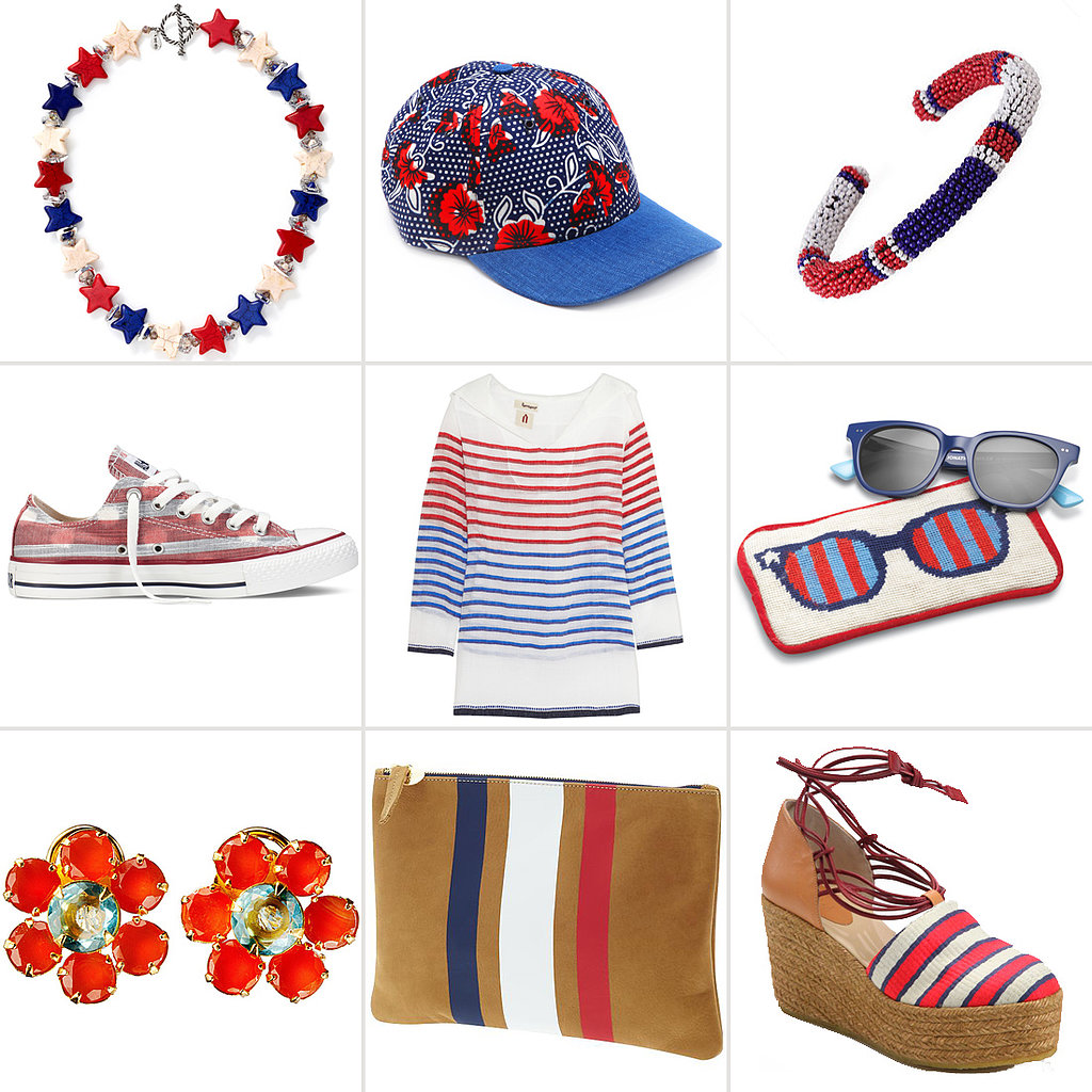 We Love a Holiday With a Dress Code! Shop Red, White, and Blue