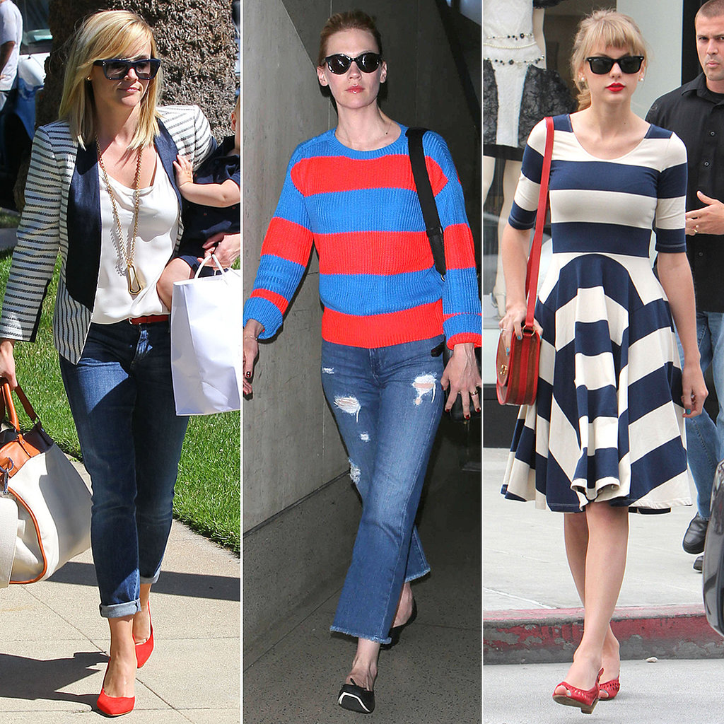 Stars & Stripes: Celebrity Looks to Inspire Your Fourth of July Style