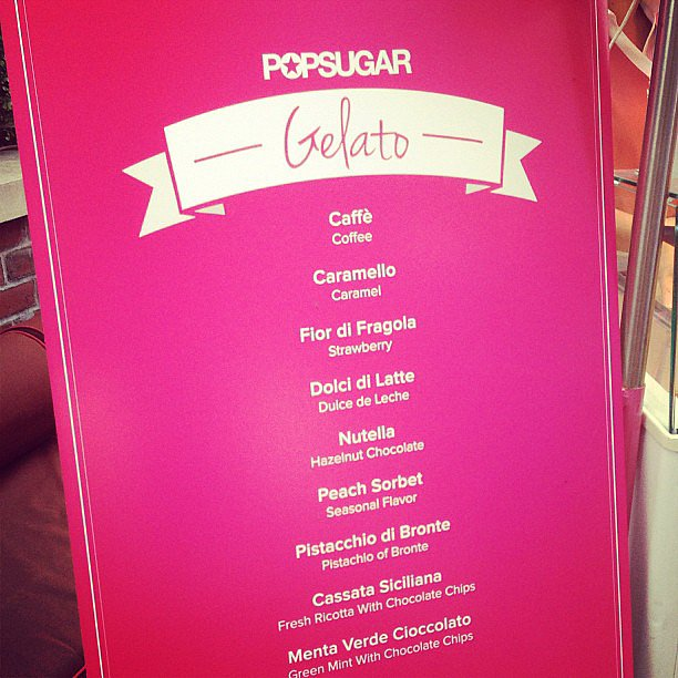 When we throw a party, there's going to be food. We made the decision difficult on guests when offering up delicious options at POPSUGAR's music showcase.