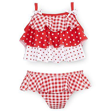 Splashing around in the pool has never been so stylish, thanks to this adorable Baby-Buns tankini ($11, originally $16).