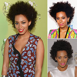 Who: Solange Knowles The look: A natural Afro Although she's since styled her hair in cascading braids, Solange's Afro will always be her signature, making her an icon for the natural hair movement.