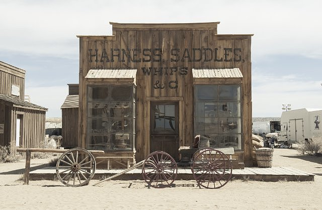 The set of The Lone Ranger.