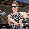 Miranda Kerr in a Floral Dress in NYC | Pictures
