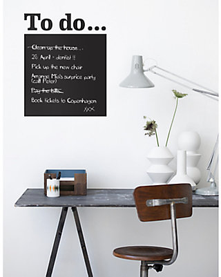 ferm LIVING To Do Sticker, Black