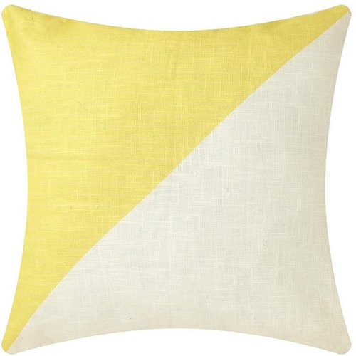 Colour Block Cushion 43Cm X 43Cm