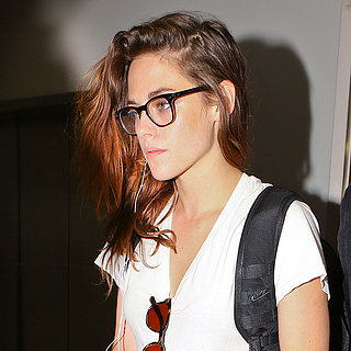 Kristen Stewart Wearing Glasses at LAX | Pictures