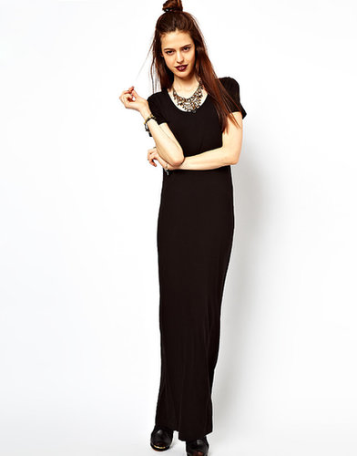 ASOS Maxi Dress With T-Shirt Sleeve.