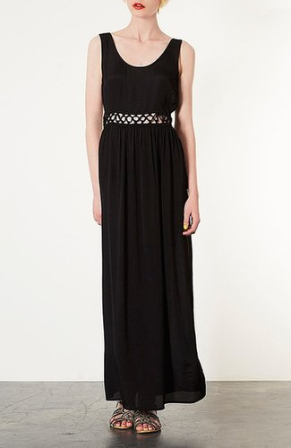 Topshop Knotted Waist Maxi Dress