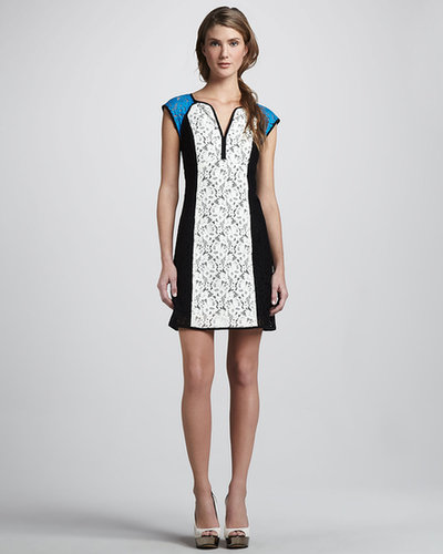 Nanette Lepore Magic Moment Colorblock Dress