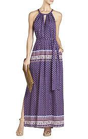 BCBGMAXAZRIA's Mia Printed Maxi Dress