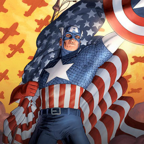 Patriotic Superheroes