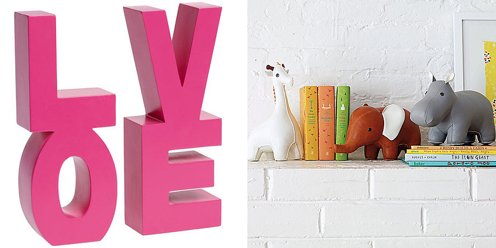 10 Cool Bookends to Style Up Your Little One's Library