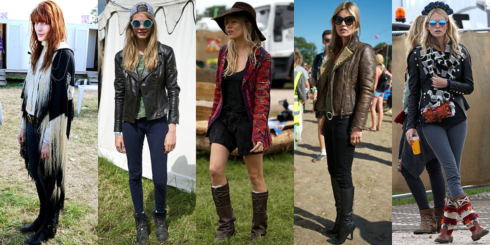Wellies Required: See Glastonbury's Best Star Street Style (UPDATED)