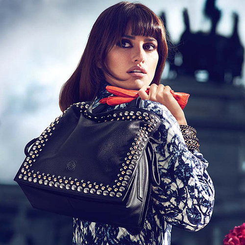 Penelope Cruz and Sister Design Bag For Loewe