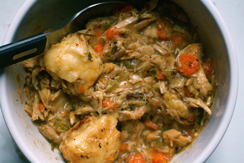 Arkansas: Chicken and Dumplings
