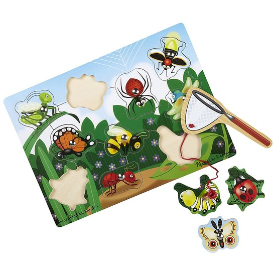Melissa & Doug Bug-Catching Magnetic Puzzle