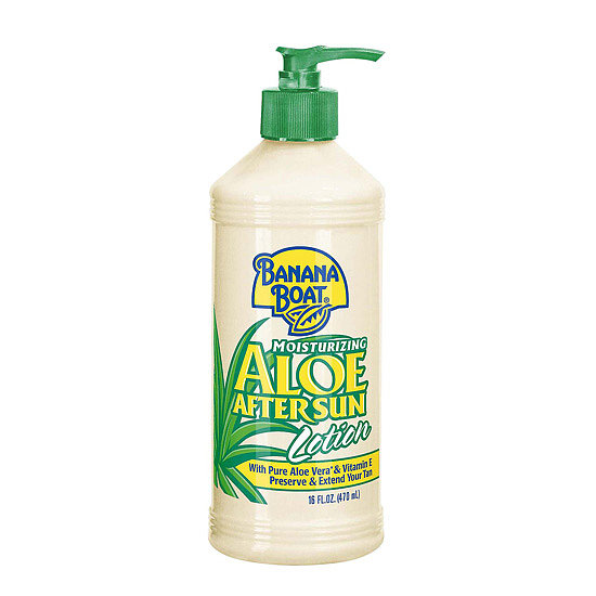 Nourish your dehydrated skin with Banana Boat Aloe After Sun Lotion ($7). The aloe instantly cools your skin, while vitamin E gives you long-lasting hydration.
