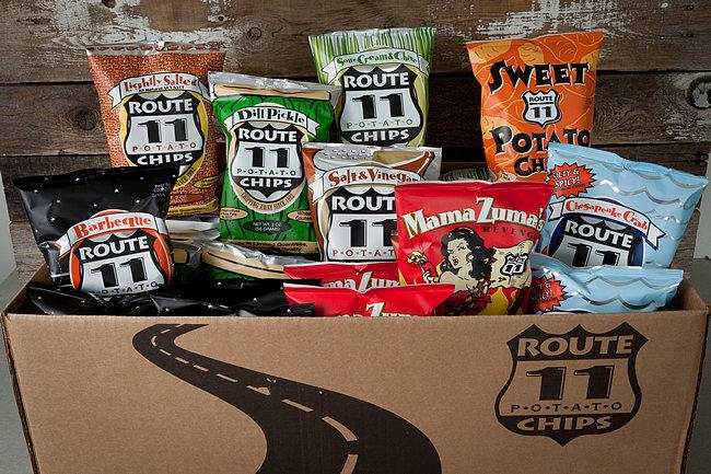 Virginia: Route 11 Potato Chips
