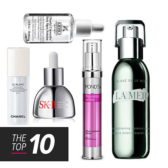 The Top 10: Whitening Serums + Spot Treatments