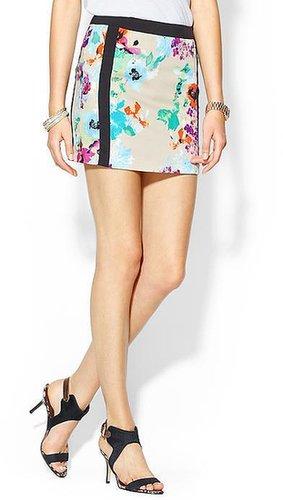 Rhyme Los Angeles Gracie Floral Mini Skirt