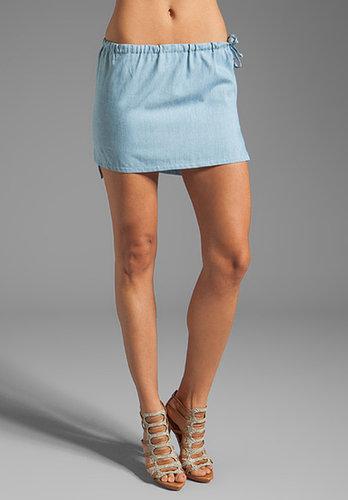 Riller & Fount Brandy Drawstring Skirt