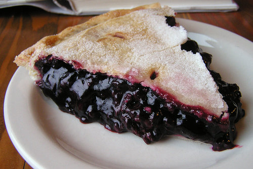 Oregon: Marionberry Pie