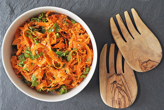 Sesame Carrot Salad