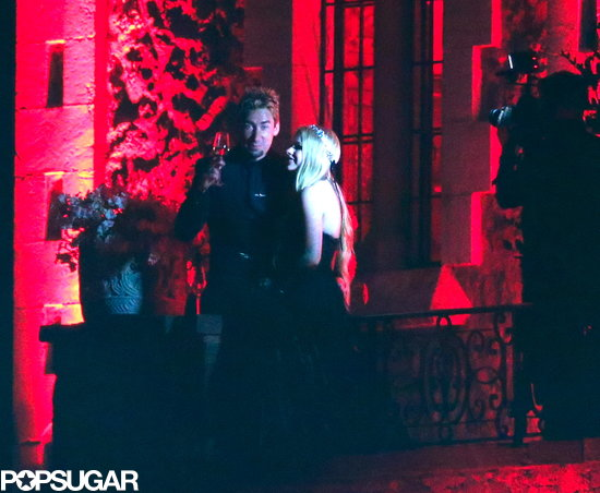Avril Lavigne and Chad Kroeger got married.