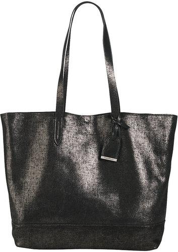 Cole Haan Haven Metallic Leather Tote Bag, Black