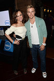 Karina Smirnoff and Derek Hough