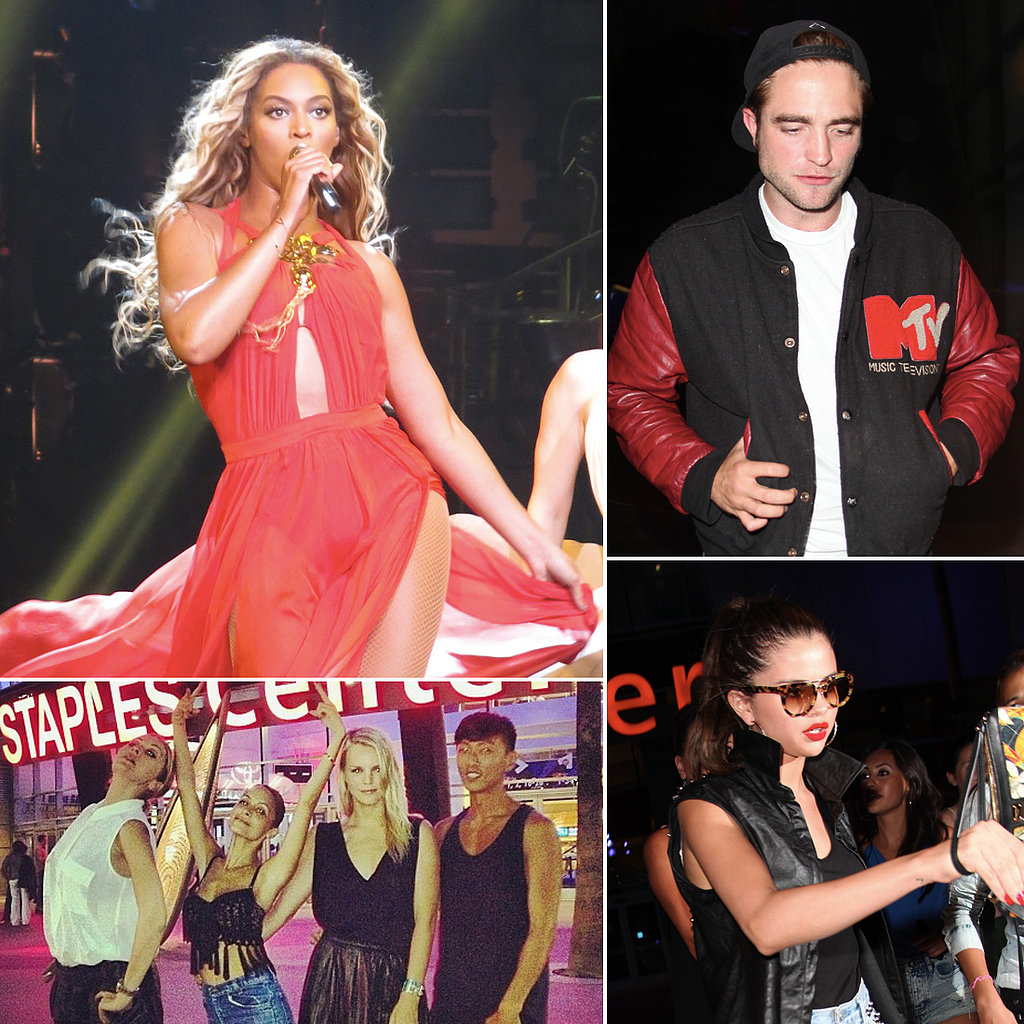 Rob, Selena, Nicole and More Flock to the Staples Center For Beyoncé's Show