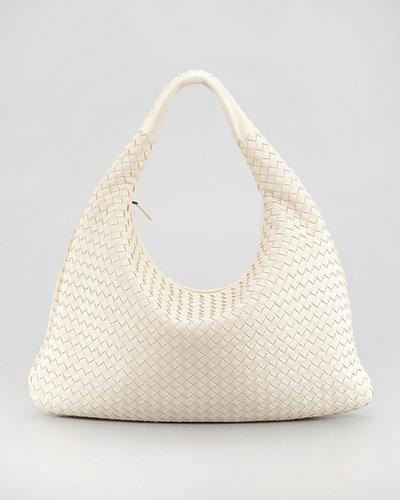 Bottega Veneta Veneta Woven Hobo Bag, Large