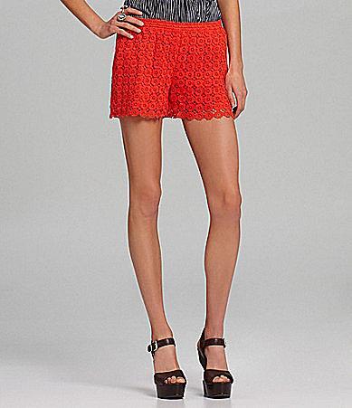 Chelsea & Violet Allover Lace Shorts