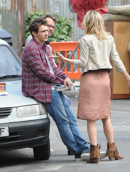 James Franco and Kate Hudson filmed a scene together for Good People.