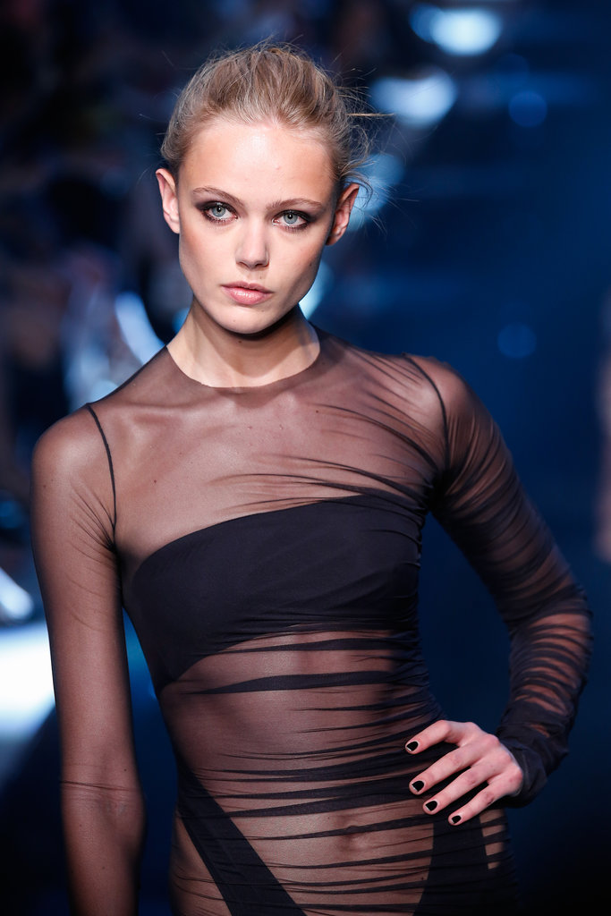 How sexy is the top half of this Alexandre Vauthier Haute Couture Fall 2013 dress?