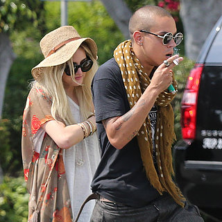 Ashlee Simpson With Evan Ross | Pictures