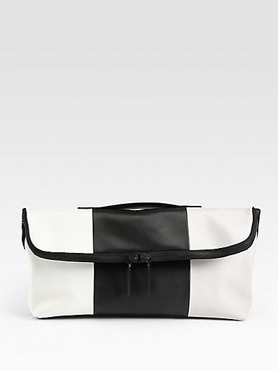 3.1 Phillip Lim 31 Minute Colorblocked Oversized Clutch