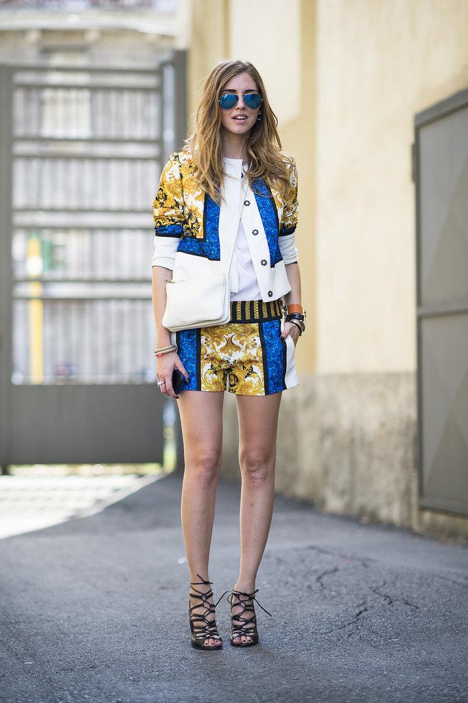 street style, lato w mieście, pomysł na letnią stylizacje, chiara ferragni