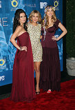 Audrina Patridge, Lauren Conrad, and Whitney Port got together for the December 2008 Hills season finale event in NYC.