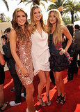 Audrina Patridge and Lauren Conrad got together with Whitney Port on the 2009 MTV Movie Awards red carpet.